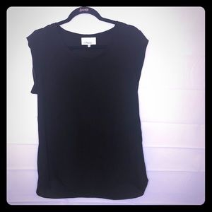 3.1 Philip Lim Black Silk Blouse